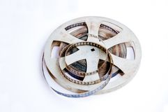 Movie Reel Royalty Free Stock Photo
