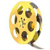 Movie Reel Stock Image