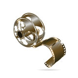 Movie reel film Stock Photos