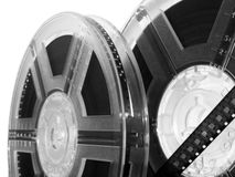 Movie reels. Cinema movie film rolls royalty free stock image