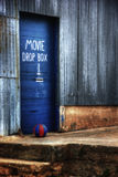 Drop box. An hdr image of a movie drop box in a small town Royalty Free Stock Image