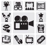 Movie set Stock Photography