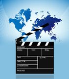 Movie Slate Royalty Free Stock Images