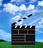Movie slate Stock Photography
