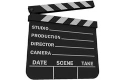 Movie Slate royalty free illustration