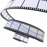 Movie strip Royalty Free Stock Photo