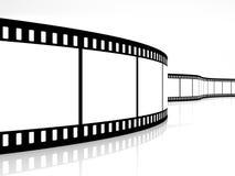 Movie strip Stock Photo