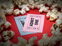 Free Movie Stub Royalty Free Stock Images - 8639259