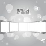 Movie tape Royalty Free Stock Photo