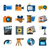Movie technology Stock Images