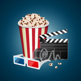 Movie template Royalty Free Stock Images