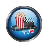 Movie template Stock Photos