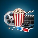 Movie template Stock Image