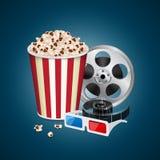 Movie template Stock Photo