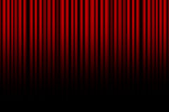 Movie or theater curtain Stock Photography