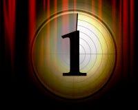 Movie or theater curtain Stock Photos