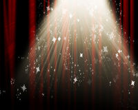 Movie or theater curtain Royalty Free Stock Photos