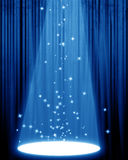 Movie or theater curtain vector illustration