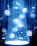 Movie or theater curtain Royalty Free Stock Image