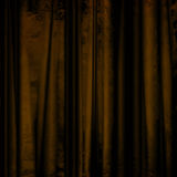 Movie or theater curtain Stock Image