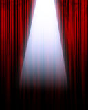 Movie or theater curtain Royalty Free Stock Images