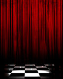 Movie or theater curtain stock illustration