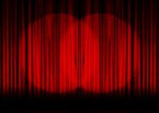 Movie or theater curtain stock illustration