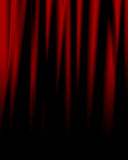 Movie or theater drapes Stock Photos