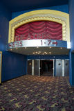 Movie theater entrance Royalty Free Stock Photos