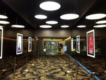 Movie Theater Lobby Royalty Free Stock Images