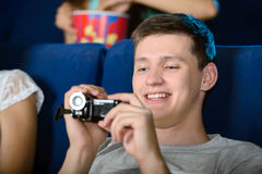 Movie Theater Royalty Free Stock Photography