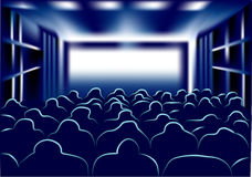 Movie and theater Royalty Free Stock Photo