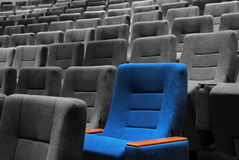 Movie Theater Seats Stock Photography