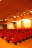 Movie Theater Seats Royalty Free Stock Photos