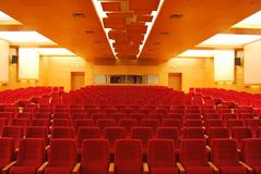 Movie Theater Seats Royalty Free Stock Images