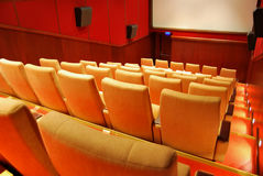 Movie Theater Seats Royalty Free Stock Image