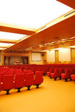 Movie Theater Seats Royalty Free Stock Photo