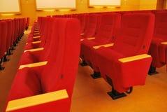 Movie Theater Seats Stock Photo