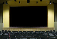 Free Movie Theater Stage Royalty Free Stock Image - 2461546
