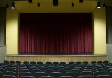 Movie Theater Stage Royalty Free Stock Photography