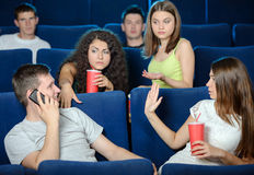 Movie Theater Stock Image