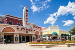 Movie Theater At Tanger Outlets Royalty Free Stock Photography