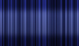 Movie or theatre curtain Stock Image