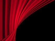 Movie or theatre curtain Stock Photo
