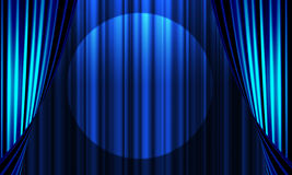 Movie or theatre curtain Royalty Free Stock Image