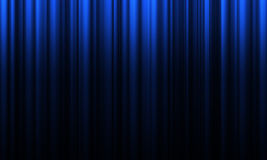 Movie or theatre curtain Royalty Free Stock Photography