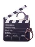 Movie theft Royalty Free Stock Photos