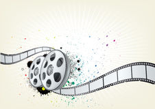 movie theme background Royalty Free Stock Photos