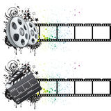 movie theme element Royalty Free Stock Photography