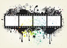Movie theme element Stock Photos